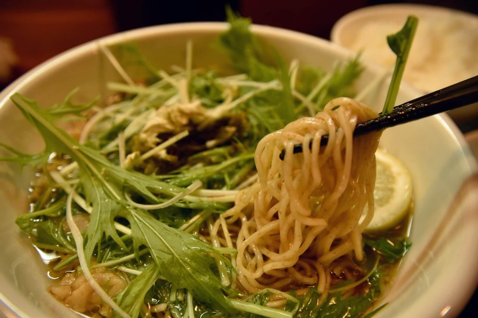 松坂牛かす麺を実食