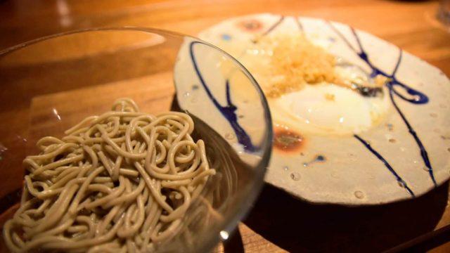 豆乳味噌蕎麦パスタ