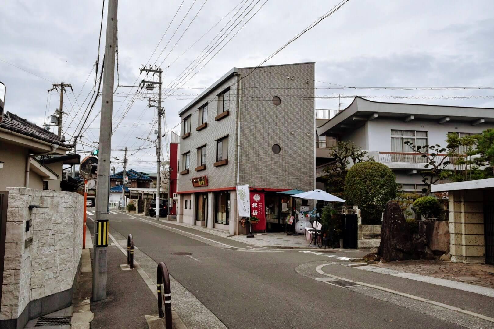 『松竹堂 吹田山田本店』の全体写真