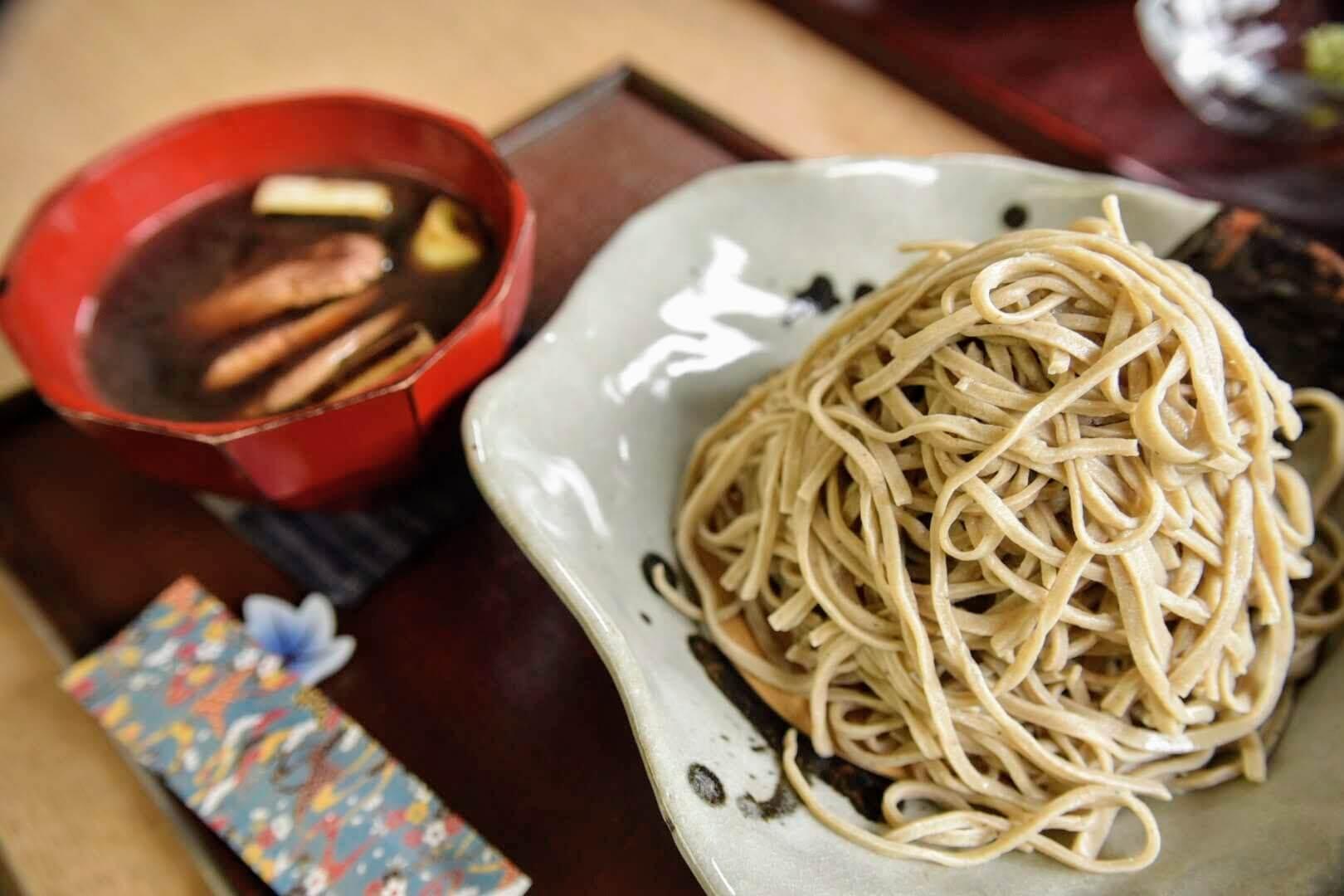あき津の鴨汁蕎麦