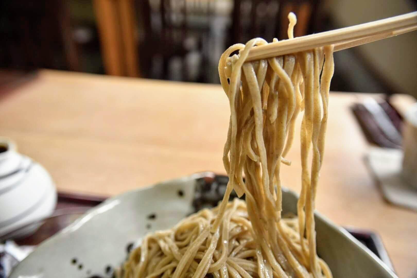 あき津のお蕎麦の香り