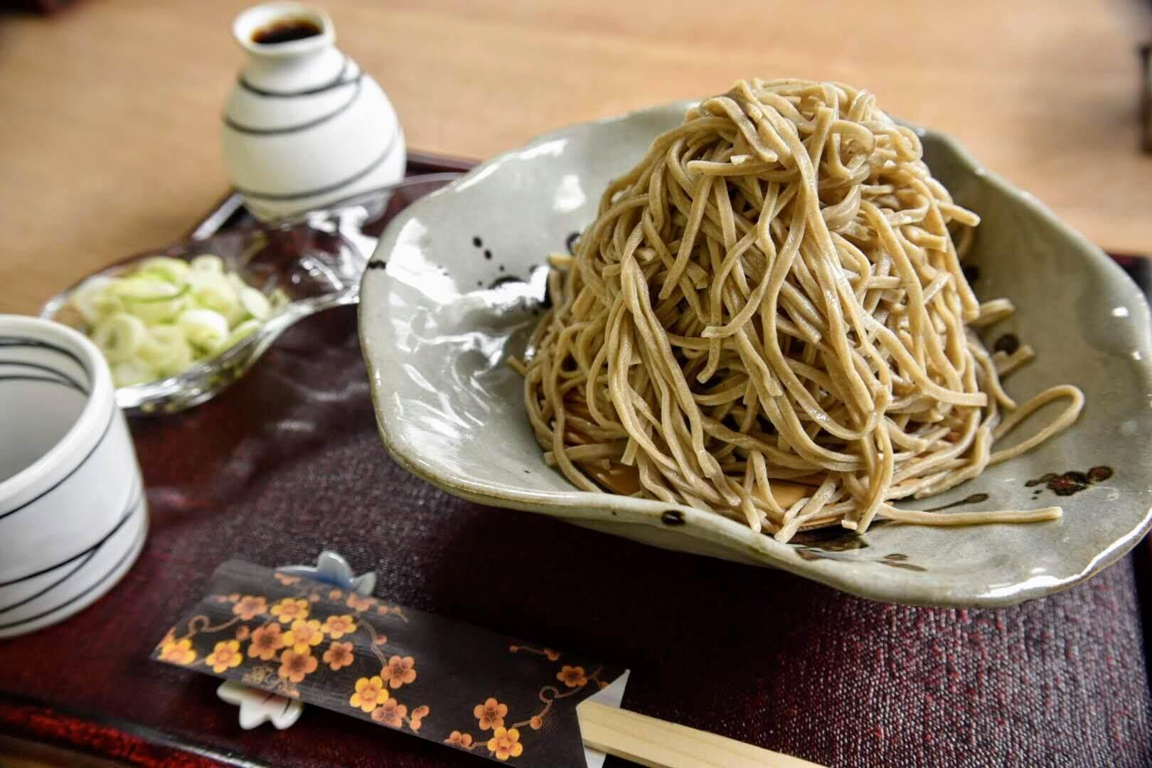 あき津のせいろ蕎麦(二八蕎麦)