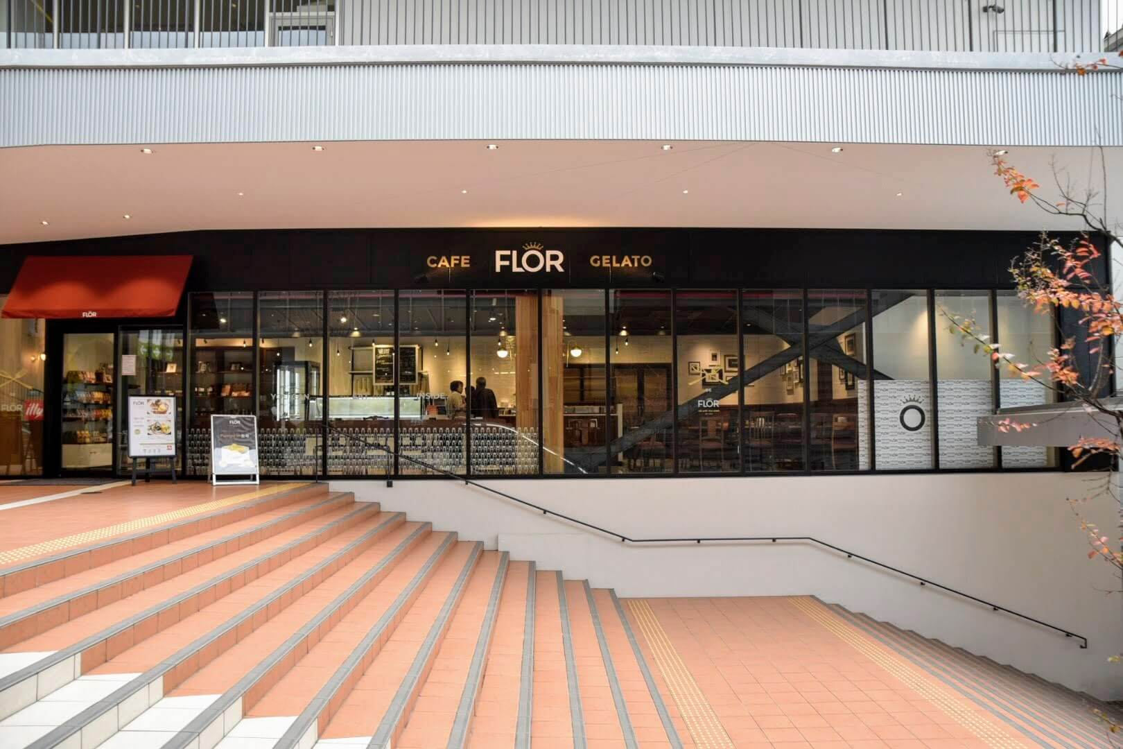 CAFE FLOR GELATOの店舗情報