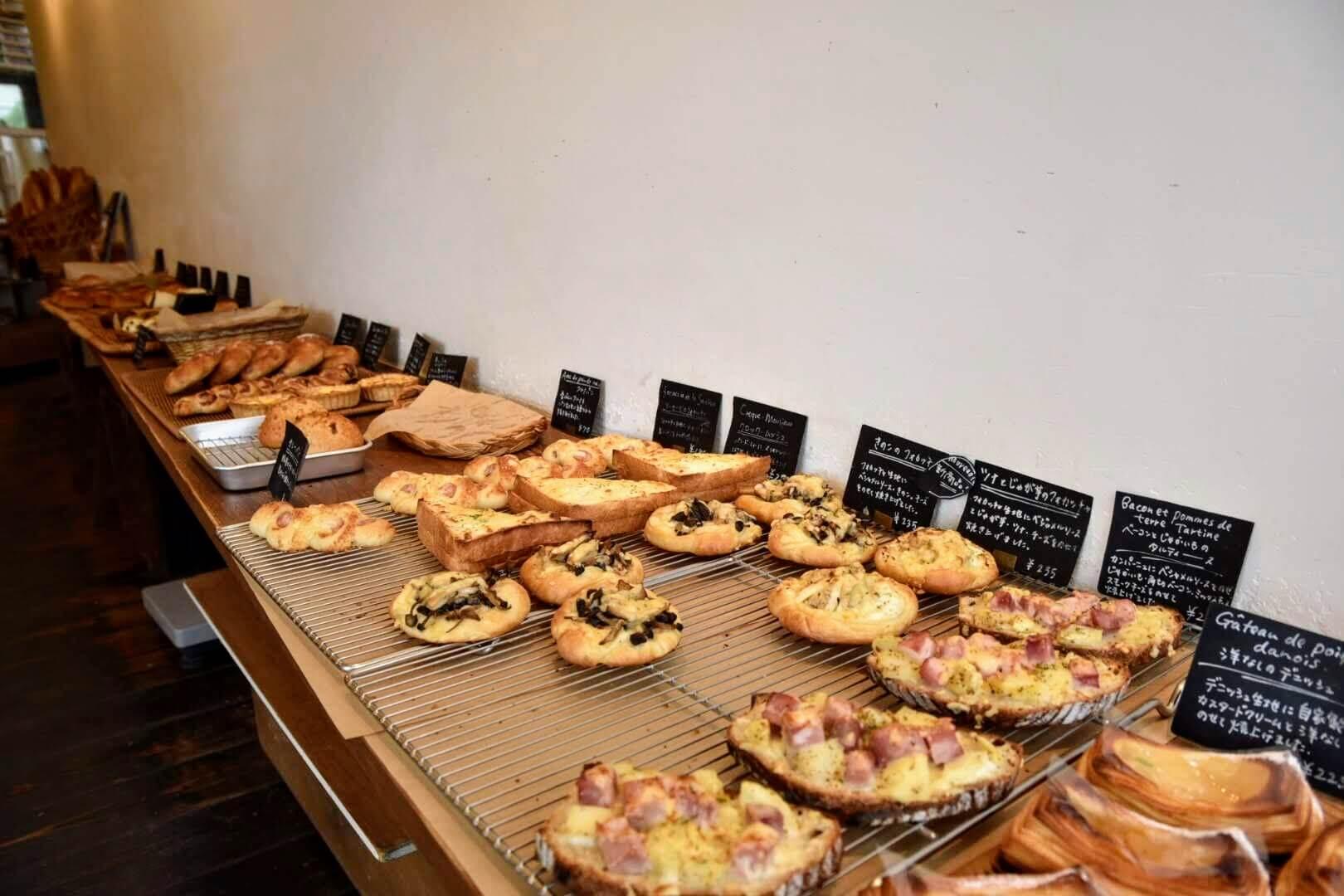 ルマタン・ドゥ・ラヴィはパンの種類が豊富