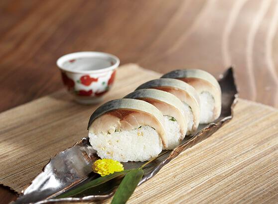 松前風とろ鯖寿司(鯖や)