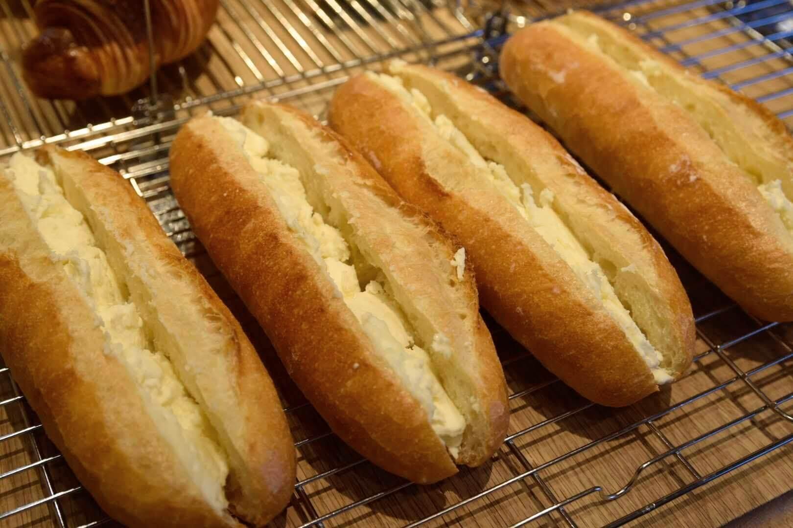 練乳フランスパン