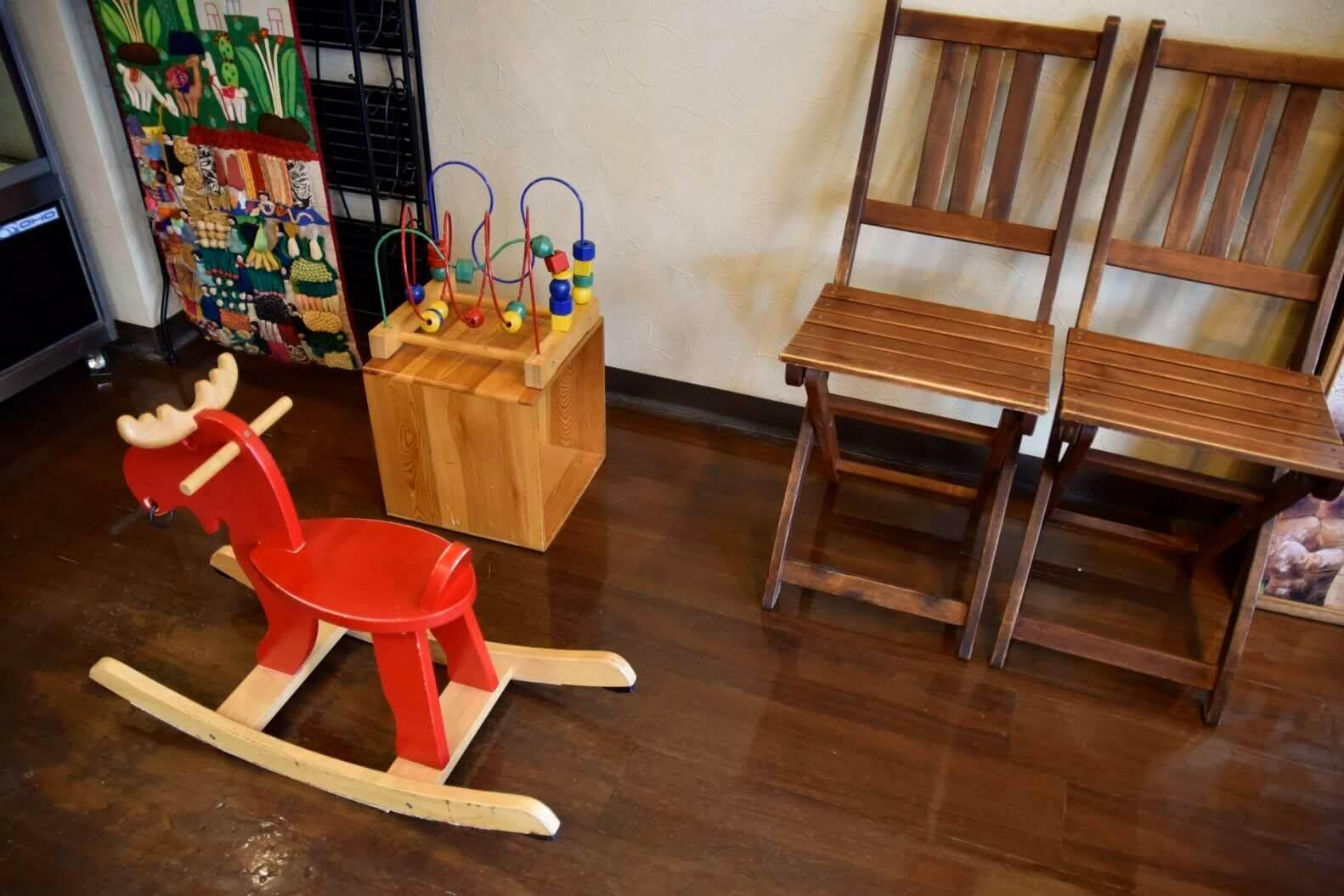 子供が遊べるスペース