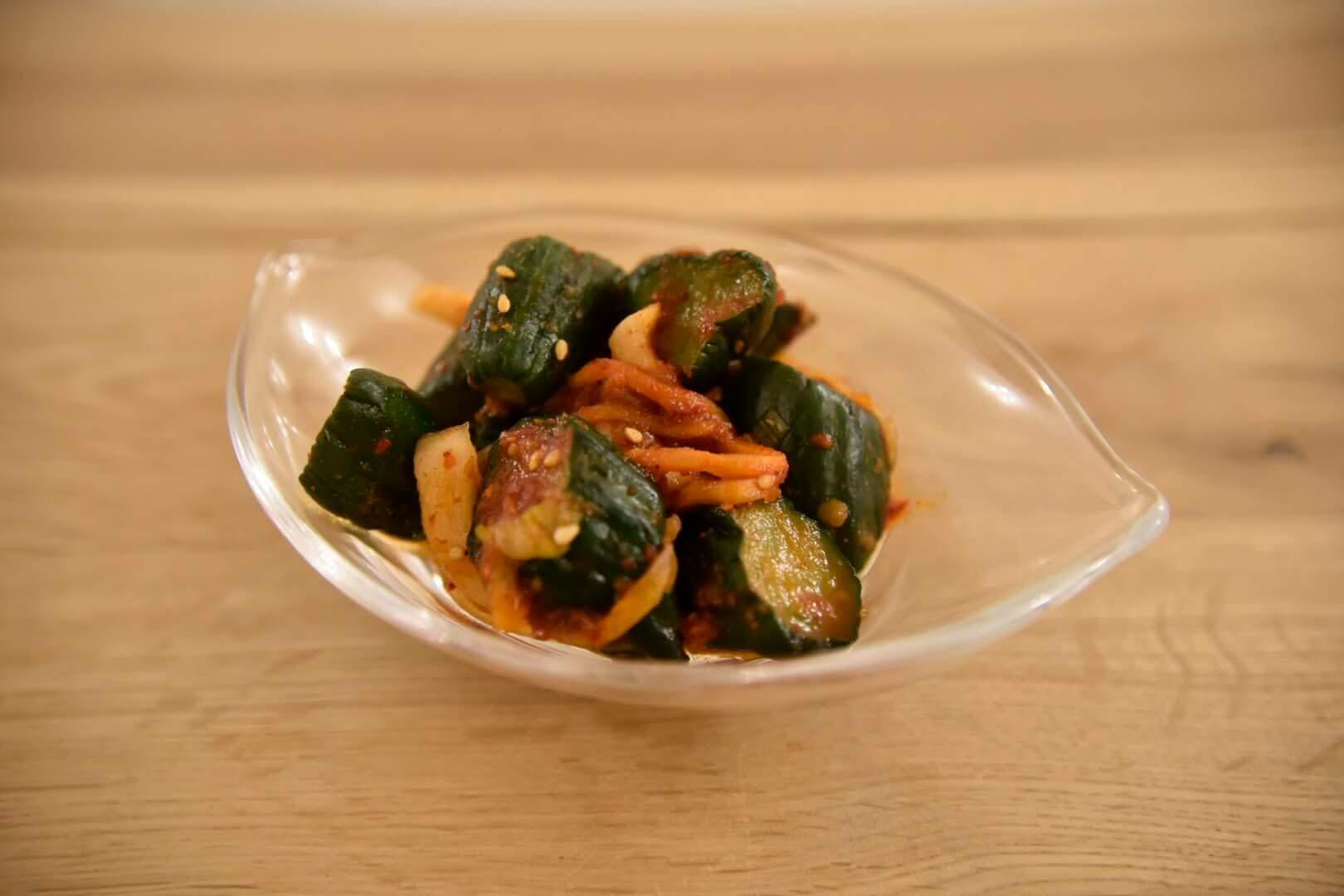 サラダきゅうりキムチ