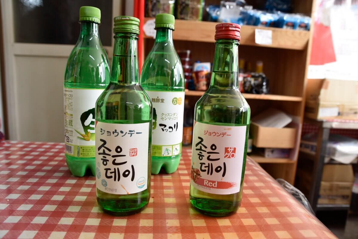 韓国のお酒(マッコリ、ジョウンデー)