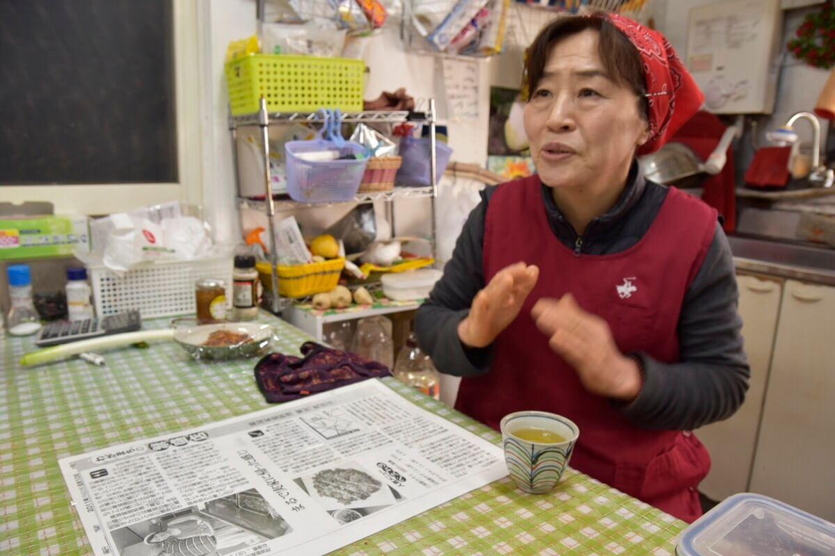 郷村(ヒャンチョン)の店主へインタビュー