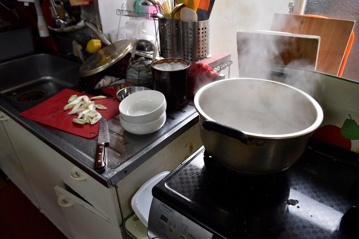 トックスープの調理