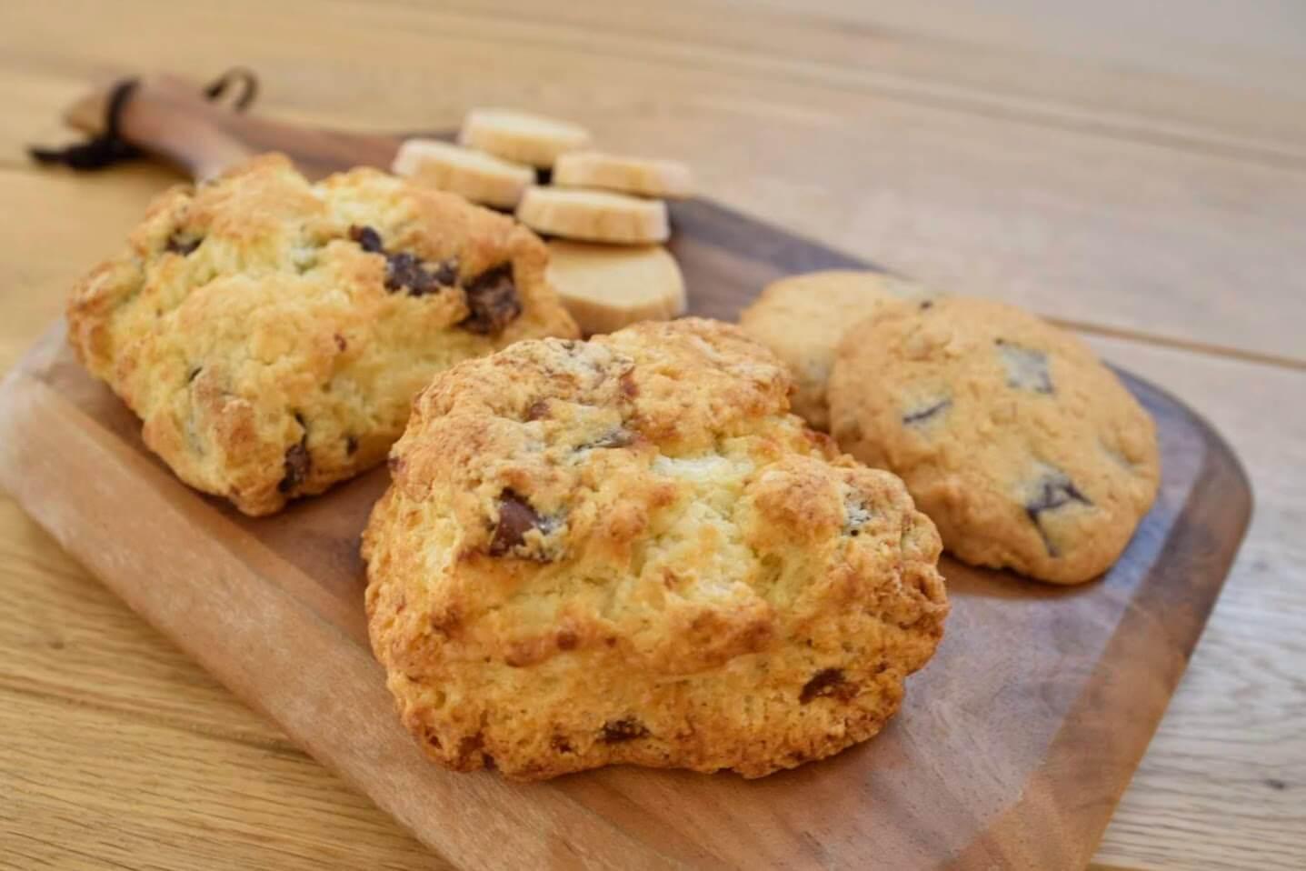 最後にクッキーを実食