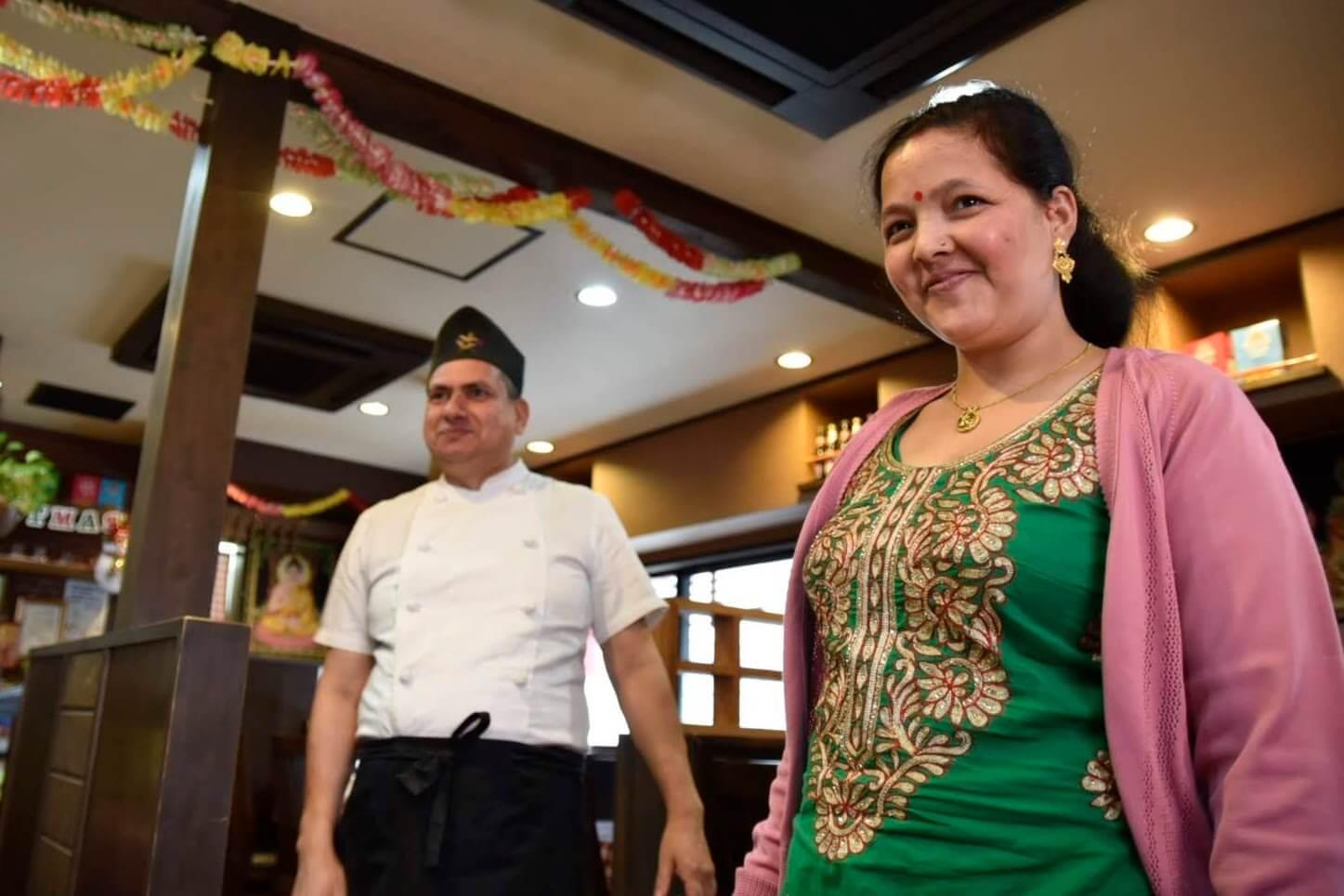 ディップ ラスナ 吹田店のネパール人ご家族にインタビュー