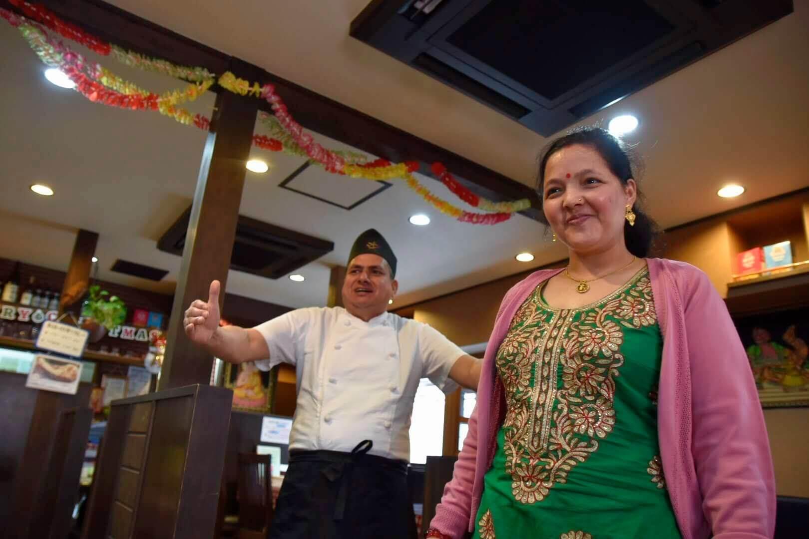 明るくて素敵なネパール人ご家族