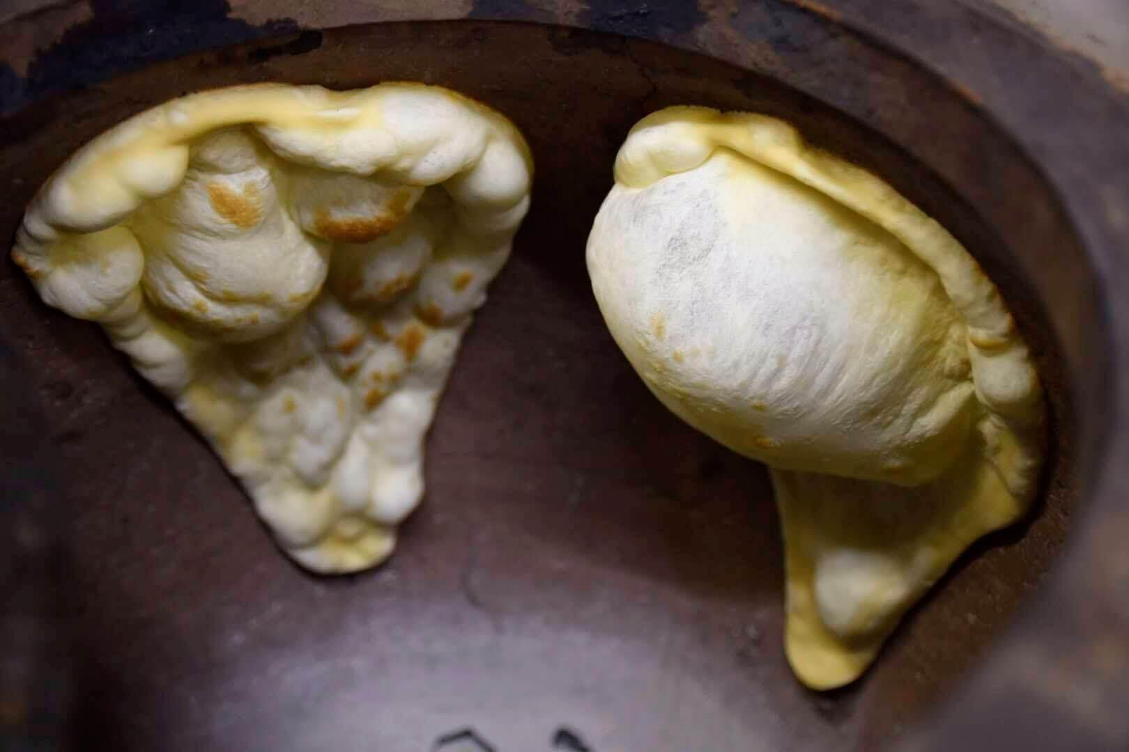 ナンの焼き窯「タンドール窯」