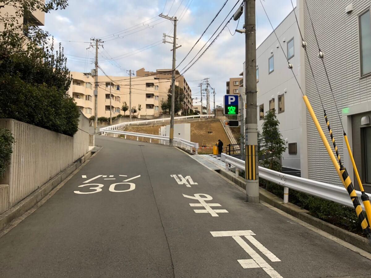 千里山メディカルモールの駐車場(駐輪場)・バイク置き場