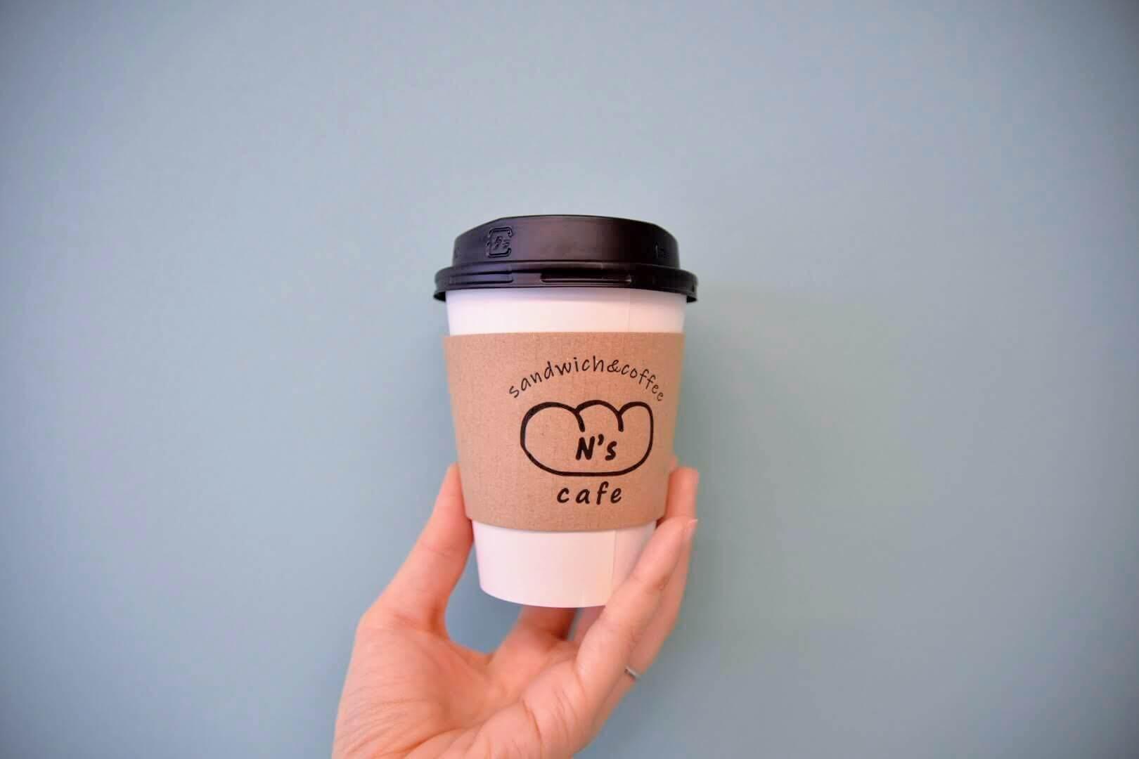エヌズカフェのコーヒー