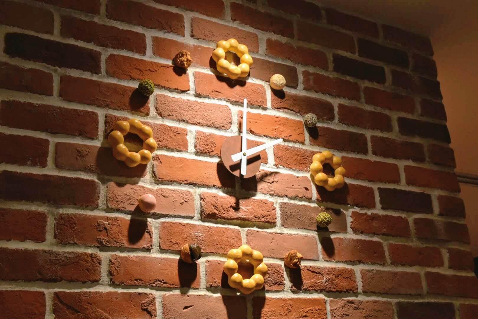 ドーナツの時計