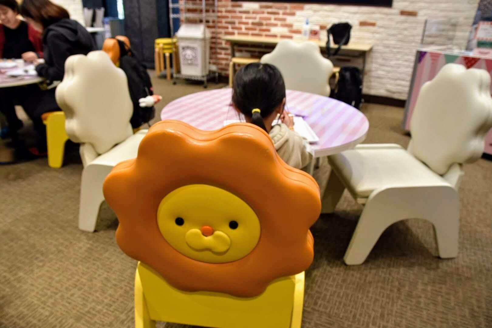 ポン・デ・ライオンの椅子