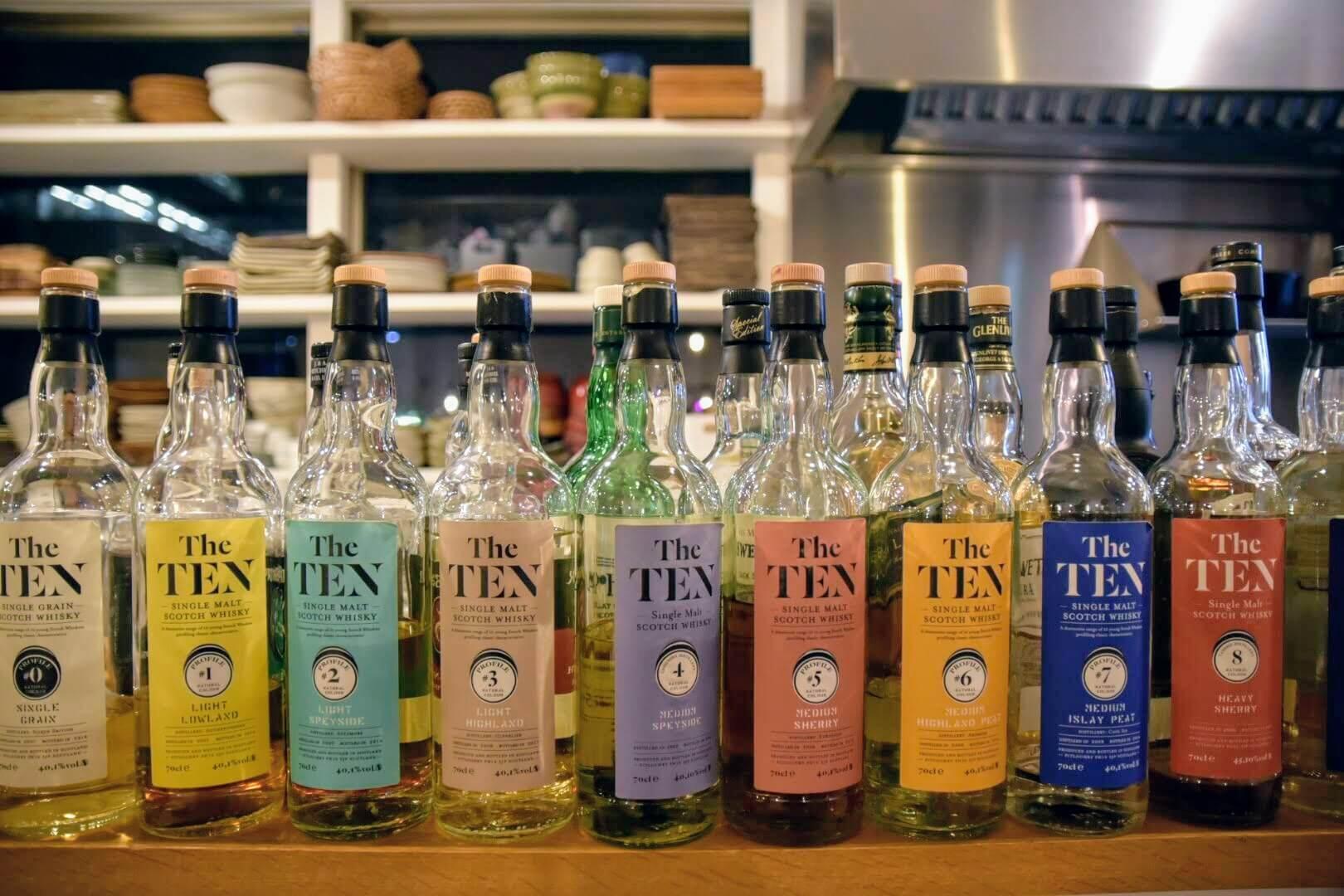 ラ・メゾン・ド・ウィスキー社のThe TENシリーズ