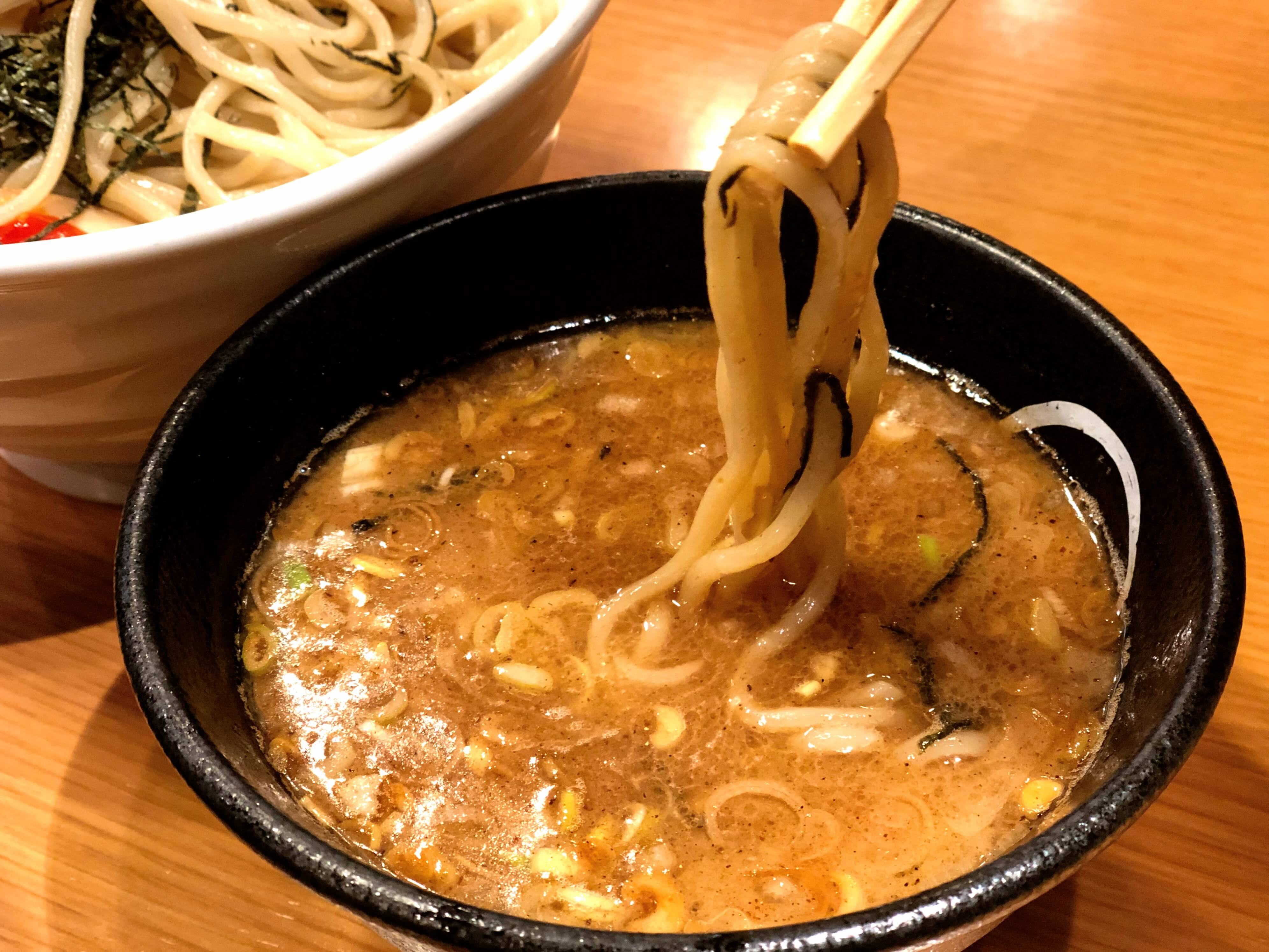 特製つけ麺を実食