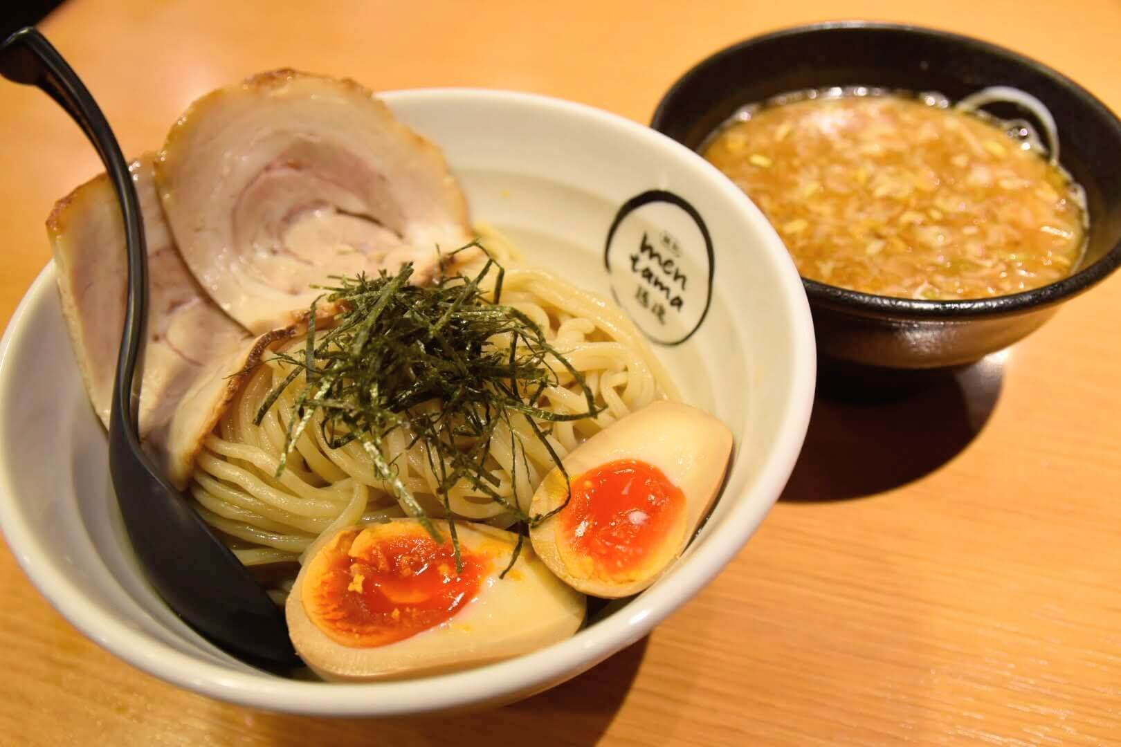 麺魂の特製つけ麺